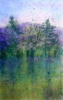 Spring Fever #2 (monotype)
